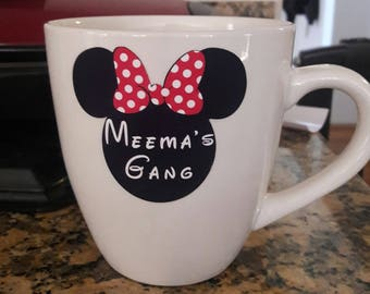 Grandma personalized Disney mug