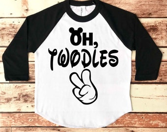Oh Twodles, Oh Twodles Shirt, Mickey Mouse Birthday Shirt, Mickey Mouse 2nd Birthday Shirt, Mickey Mouse 2nd Birthday, Oh Twodles Birthday