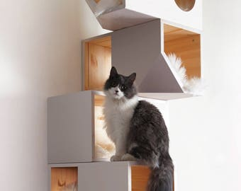 White Modular Cat House