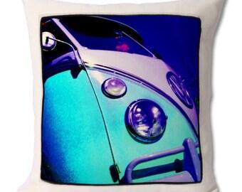 Aqua VW Camper Van