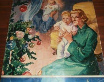 Vintage Christmas magazine The War Cry 1951