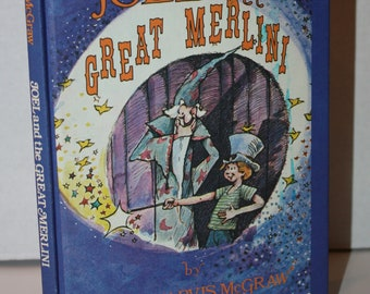 Joel and the Great Merlini by Eloise Jarvis McGraw 1979 HC Weekly Reader Books