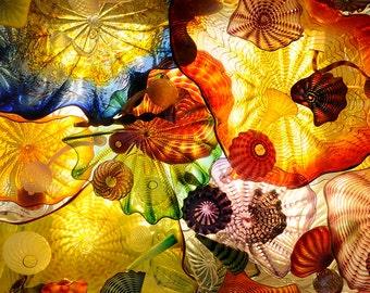 Glass Wall Art Acrylic Decor Feeling Hypnotic, 5 Stars Gift Startonight  23.62 X 35.43 Inch