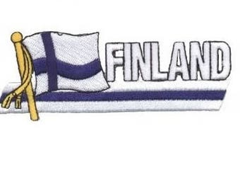 Finland Patch (Iron on)