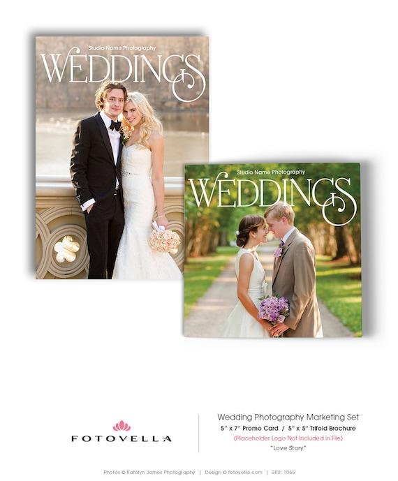 Wedding Photography Marketing Ideas: Wedding Photography Marketing Set 5x7 Promo Card 5x5