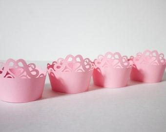Princess Cupcake Wrappers (set of 12)