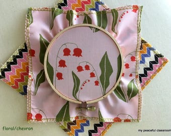How to Use an Embroidery Hoop: A Montessori Practical Life Activity