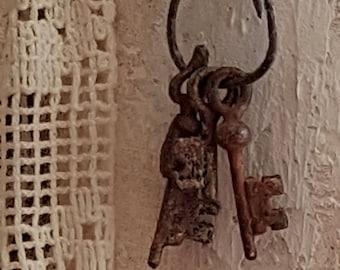 Set of vintage keys