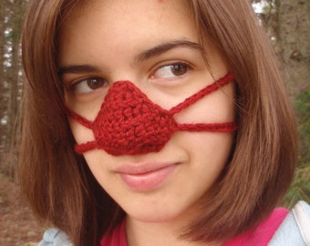 Crocheted Nose Warmers