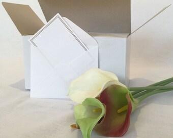 Mini White Envelopes 100 pieces