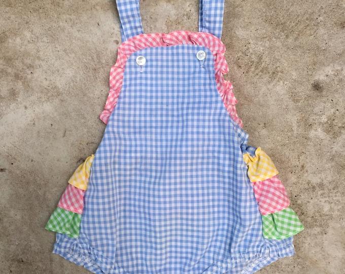 vintage infant sunsuit - 0-6 months