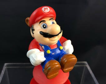 Vintage Nintendo Mario Brothers suction toy