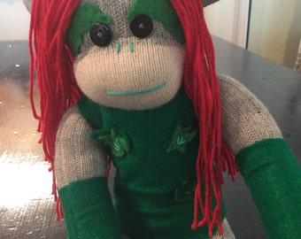 Poison Ivy Sock Monkey