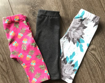 Baby Leggings, Baby Pants, Toddler Leggings, Toddler Pants