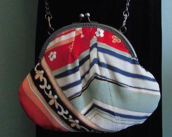 Bag chain strap kimono
