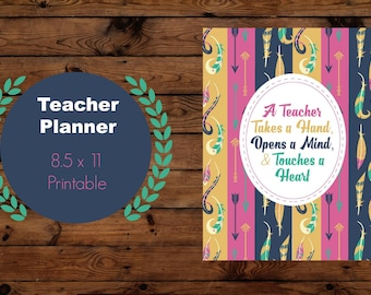 teacher lesson planner, 2017 Teacher planner printable, 2018 teacher planner 2017, lesson plan book, teacher organization, teacher classroom