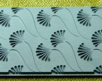 FANNING OUT Texture Rubber Stamp TTL-238