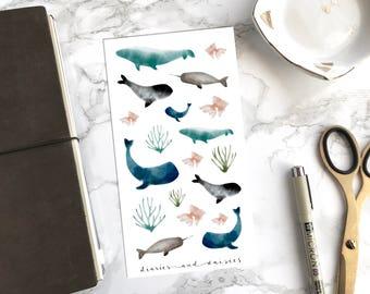 Ocean Love Watercolor Stickers