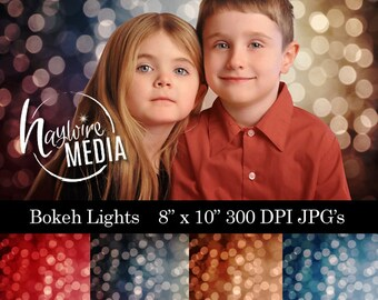 4 Beautiful Christmas Bokeh Lights for Your Photography Backdrops