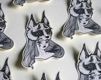 Vinyl - Anubis stickers