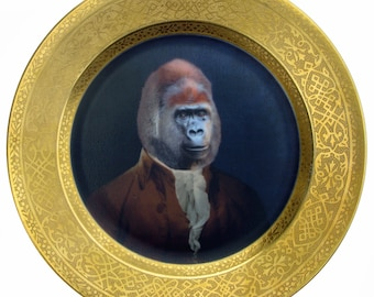 """Sir Anthony Rossi of Gorillini Portrait Plate 10"""""""