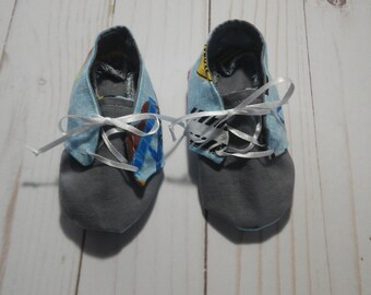 Construction Baby shoes
