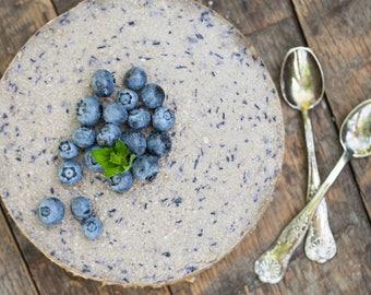 BLUEBERRY CAKE - Berry -  Food Art - Kitchen Photo - Horizontal Photo - Digital Photo - Digital Download - Instant Download