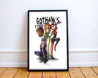 Gotham's Finest Print