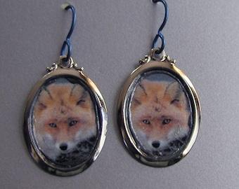 RED FOX Love Earrings Custom Available