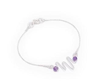 Rococo Amethyst Bracelet