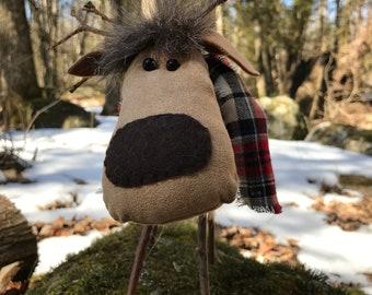 Andy the Reindeer - Hand made - Original