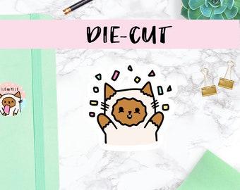 Celebration Cat | DIECUT