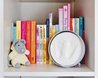 Newborn Baby Plaster Hand / Foot Print Mold Kit - Baby Made Australian Brand - Baby Shower Gift