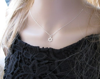 Jewish star necklace etsy aloadofball Image collections