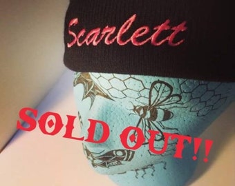 SOLD OUT* Scarlett Touque- Black