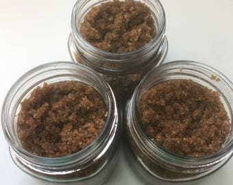 Cacao and vanilla sugar scrub