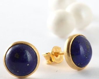 earrings in lapis cohen jeri diamonds blue white surrounded fine