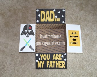 Vader Father's Day Care Package Flaps
