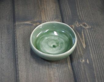 Handarbeit, ein von einer Art Deko Schale, Ringschale, Krimskrams-Halter, Flower Pot Dish