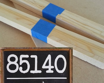 """Kit for Zip code sign - 13"""" x 9"""""""