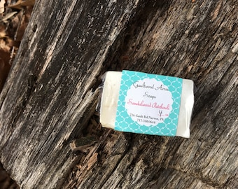 Sandalwood Patchouli Cold Process Soap