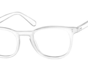 Chase Eyeglass frame with Your prescription Lenses in them