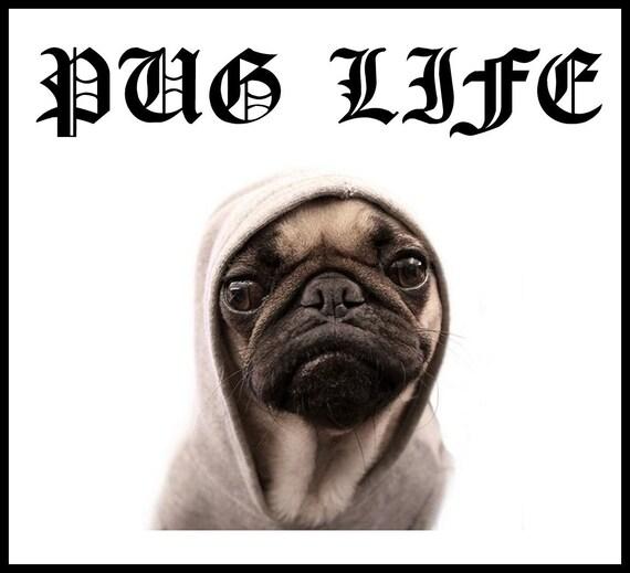 Simple Pug Army Adorable Dog - il_570xN  2018_100844  .jpg?version\u003d0