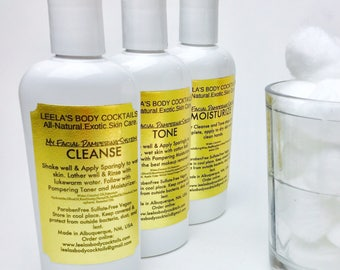 My Facial Pampering System 4oz. X 3