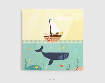 Darby + Dot™ - Ocean Adventures - Canvas Print