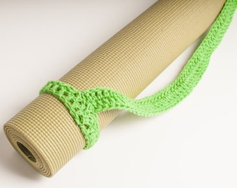 Yoga Mat Strap, Yoga Mat Sturdy Sling Handle - US Shipping Included - Spring Green, Men's Gift Original HH Design