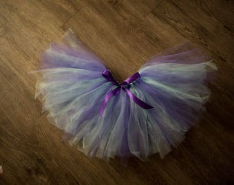 Customizable tutu - elastic waist - toddler - adults for photoshoots - made to order - tulle