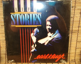 Vintage LP - Sealed - Life Stories - Earl Klugh - Jazz - 1986*