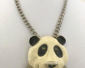 Razza 1970's Rare Panda Necklace
