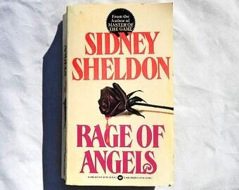 Rage of Angels by Sidney Sheldon Vintage Paperback Book